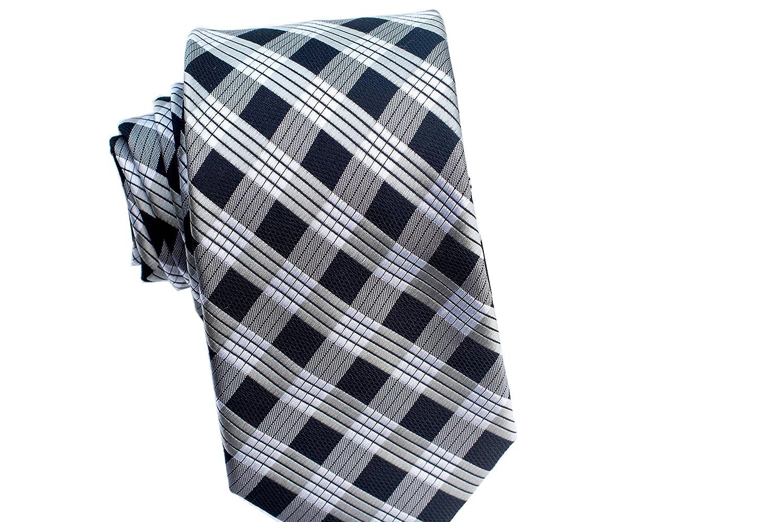 Pineapple Palaka Mens Neckties Palaka Black Modern