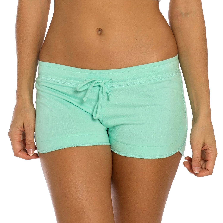 Aqua Green VBRANDED Women's Sexy Yoga Booty Pilates Frensh Terry Shorts (New Desings)