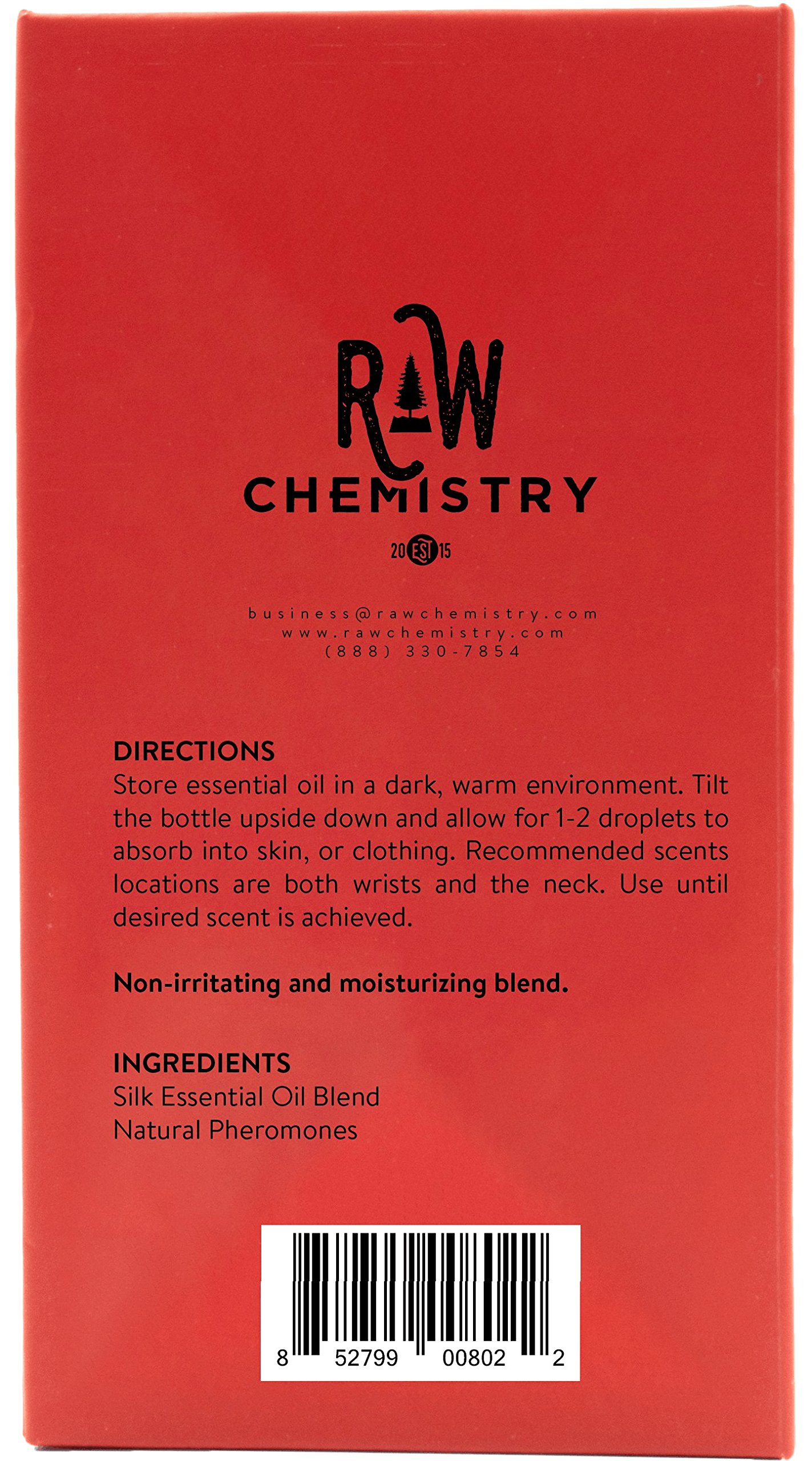 Pheromones For Men Pheromone Cologne Oil [Attract Women] - Bold, Extra Strength Human Pheromones Formula by RawChemistry – 15mL Concentrate (Human Grade Pheromones to Attract Women) by RawChemistry (Image #5)