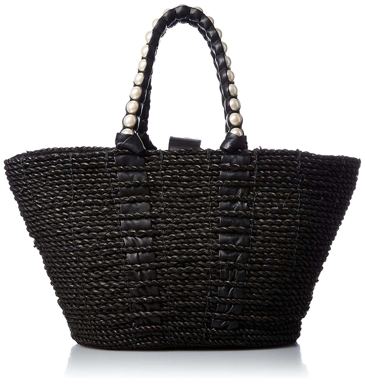 [カルネ] Rope Basket KURUMI HandleCE-1610-210 B06VY7ZD7Tブラック
