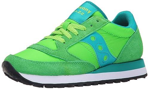 Zapatillas para mujer Saucony Jazz Original - Green (37œ EU): Amazon.es: Zapatos y complementos
