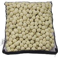 AQUANEAT Bio Ball Filter Media Bacteria House for Marine and Freshwater Aquarium Sump • Canister Filter • HOB Filter • Refugium • Koi Ponds 1 Gallon (2000g)
