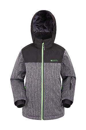 Mountain Warehouse Chaqueta de esquí Comet para Hombre: Ropa de esquí Impermeable, cálido,