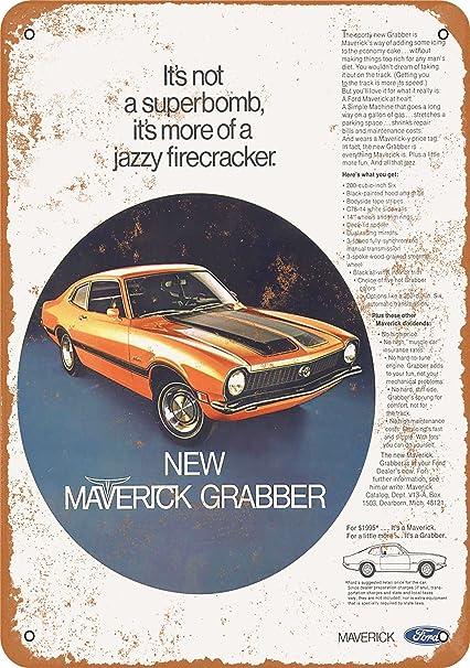 1977 Ford Maverick American Muscle Car Classic Design Tshirt NEW