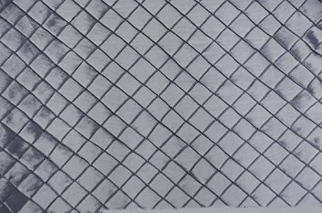 "110/"" Wide Taffeta Pintuck 1/""x1/"" Diamond Fabric ROYAL BLUE Sold by the yard"