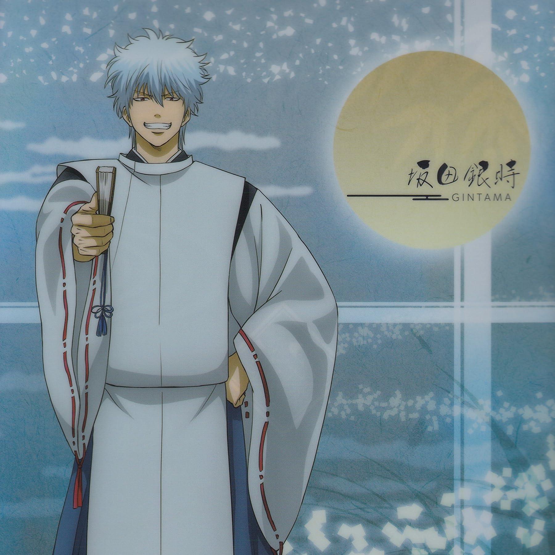 銀魂 平安貴族風 坂田 銀時(さかた ぎんとき) iPad壁紙 画像72742 スマポ