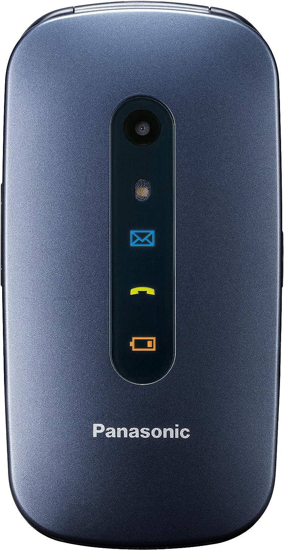 Panasonic KXTU456, Teléfono Móvil para Mayores (Pantalla Color TFT 2.4