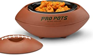 PRO POTS 1.5-Quart Football Slow Cooker
