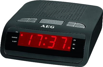 AEG MRC 4142 - Radiodespertador: AEG: Amazon.es: Electrónica
