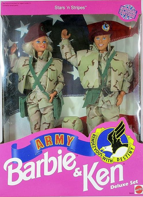 Bambole E Accessori Barbie Army Special Edition Altro Bambole