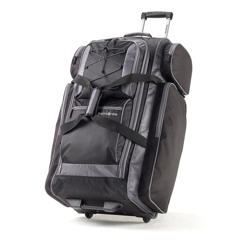 Samsonite 77235-1062 Campus Gear 30 Wheeled Duffle, Black/Grey, Checked – Large Checked – Large Samsonite Corporation - CA