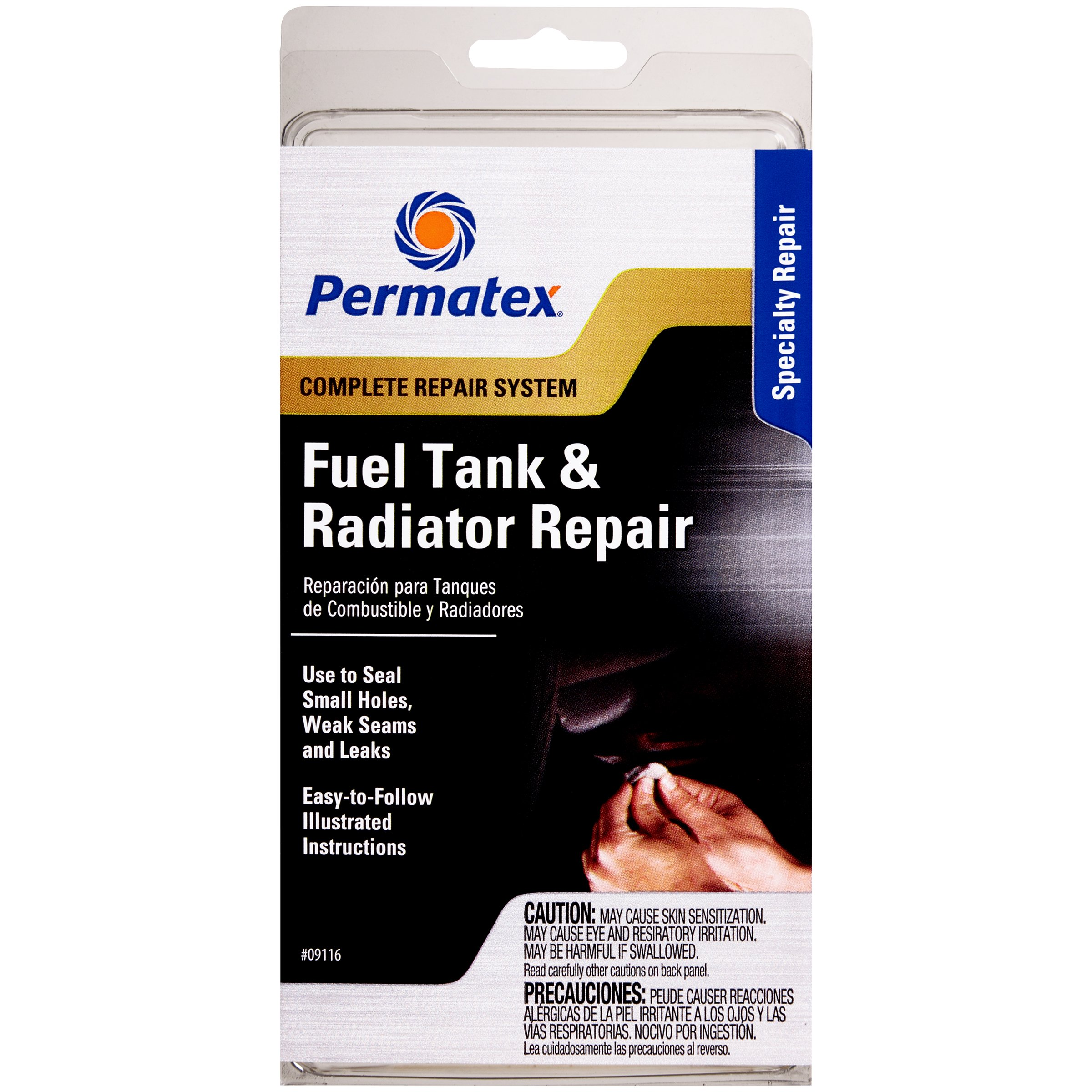 Permatex 09116-6PK Fuel Tank and Radiator Repair Kit (Pack of 6)