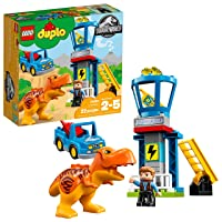 Deals on LEGO DUPLO Jurassic World T. Rex Tower 10880 (22 Pieces)