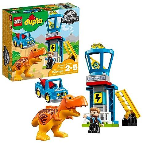 LEGO DUPLO Jurassic World T. rex Tower