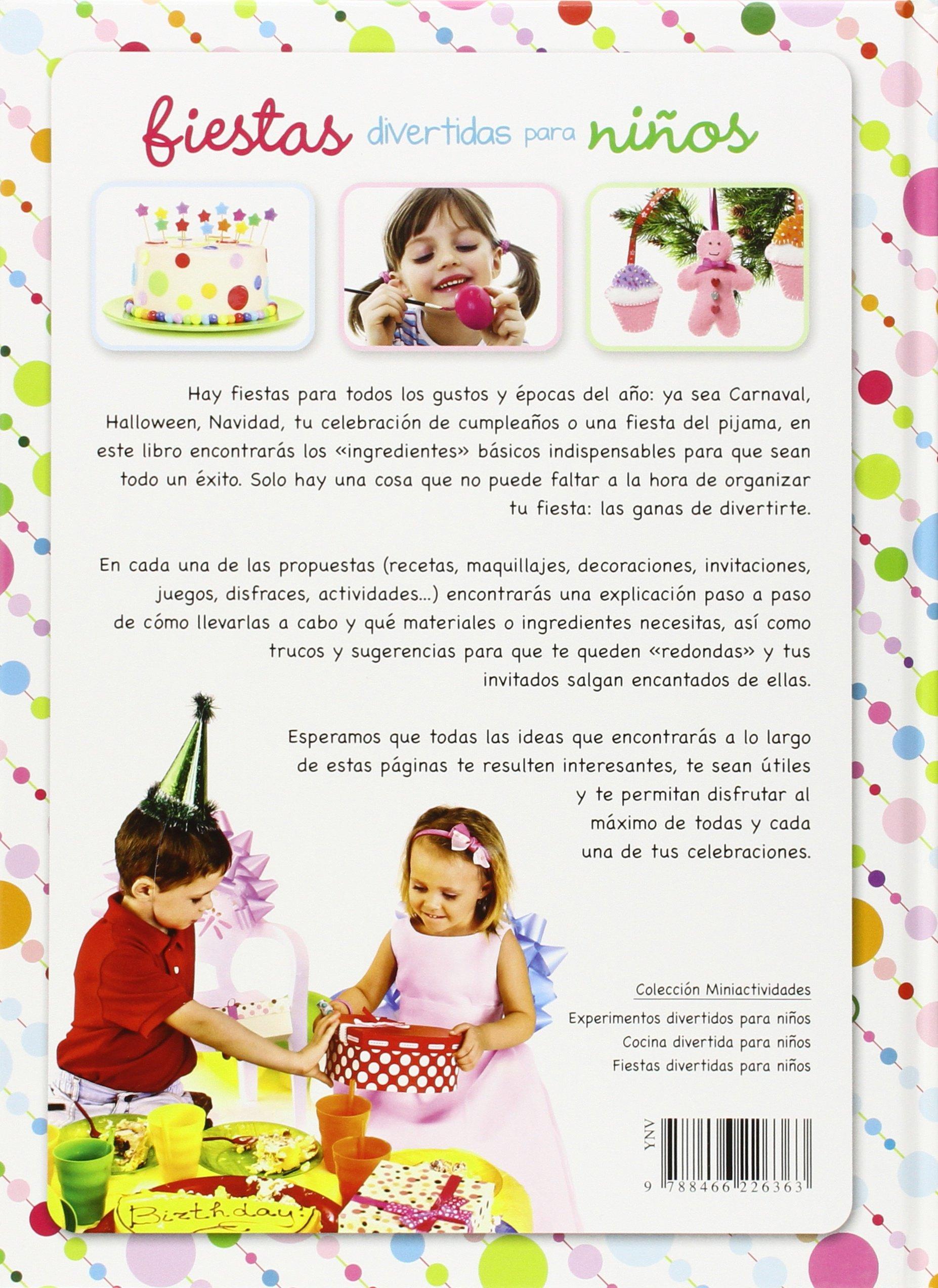 Fiestas divertidas para ninos (Spanish Edition): Carla Nieto Martinez: 9788466226363: Amazon.com: Books