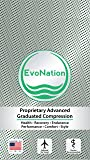 EvoNation Women's USA Made Open Toe Sheer Graduated