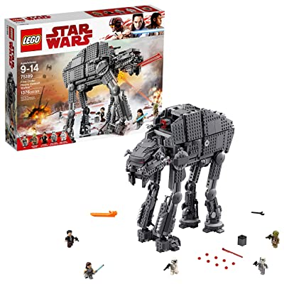 LEGO Star Wars Episode VIII First Order Heavy Assault Walker 75189 Building Kit (1376 Piece): Toys & Games [5Bkhe0303546]