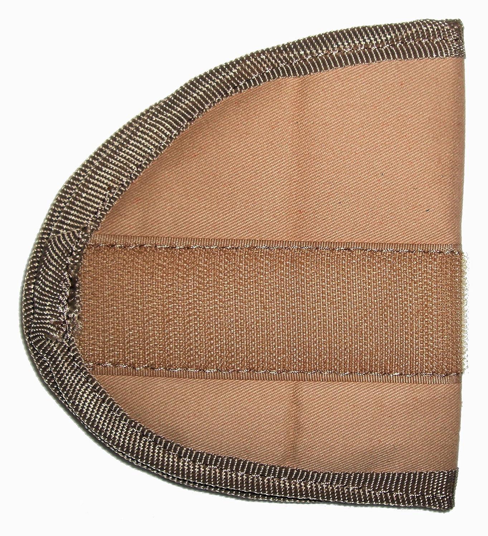 Leather Supreme Mens Ten Pocket Brown Buffalo Hide Leather Vest W Holster BVEST75B40