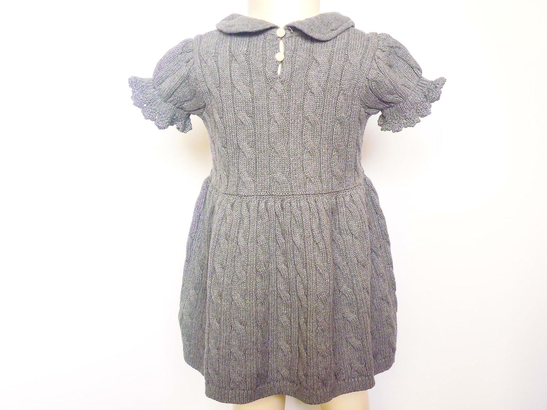 Ralph Lauren - Robe - Vêtement - Bébé (fille) 0 à 24 mois gris 12M (  75-79cm )  Amazon.fr  Bébés   Puériculture d8a41e12d00