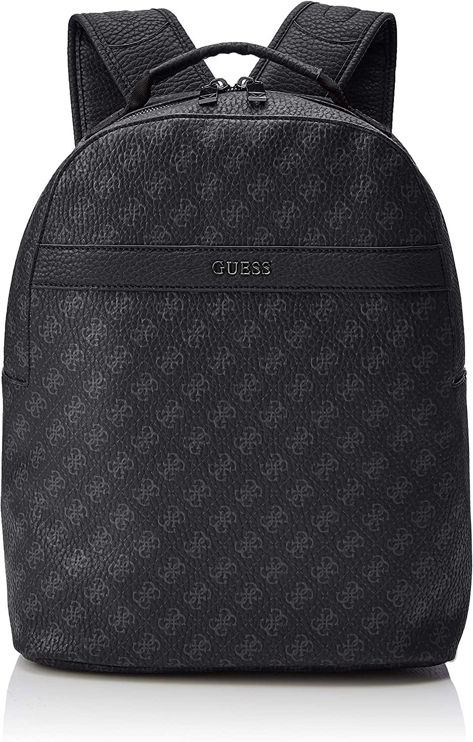 Guess City Logo Compact Backpack, Sac à dos Homme, Noir