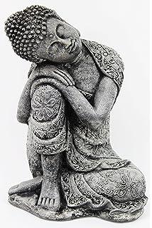 Thai Buddha Meditating Sitting Buddha Garden Statue Concrete Asian Statue  Chinese Outdoor Buddha Statuary Cast Stone