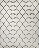 "Sweet Home Stores King Collection Moroccan Trellis Design Area Rug, 7'10"" X 9'10"", Cream"