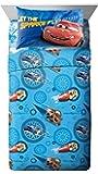 4pc Disney Cars Full Bed Sheet Set Lightning McQueen City Limits Bedding Accessories