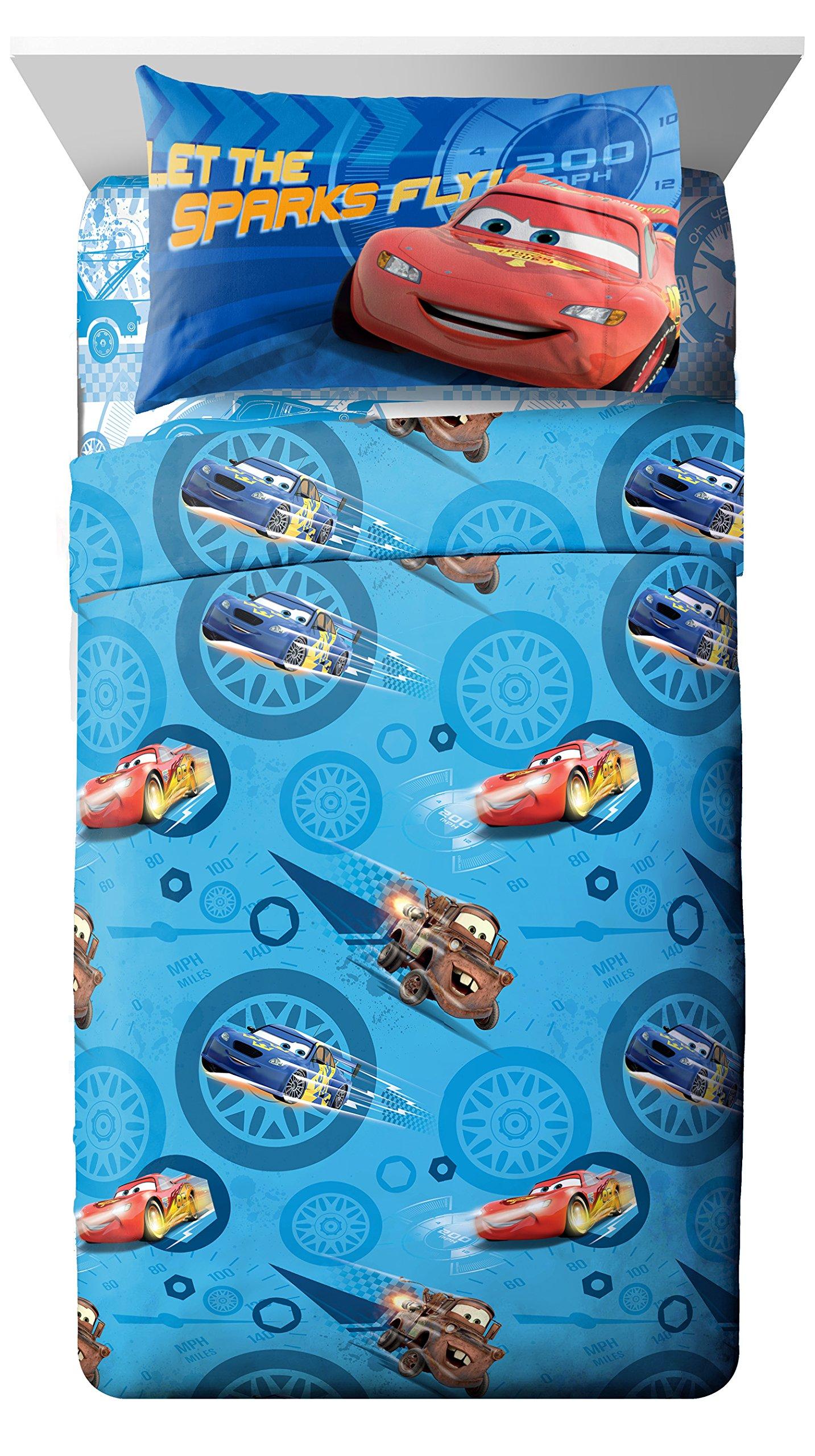 Disney/Pixar Cars City Limits 4 Piece Full Sheet Set by Jay Franco