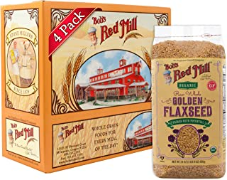 product image for Bob's Red Mill Organic Whole Golden Flaxseed, 24 Oz (4 Pack)