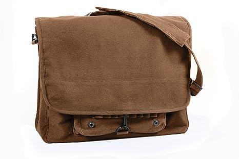 Amazon.com: Bolsa vintage de paracaidista, de Rothco, de ...