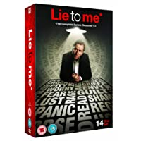 Lie to Me - Complete Season 1-3 [DVD]