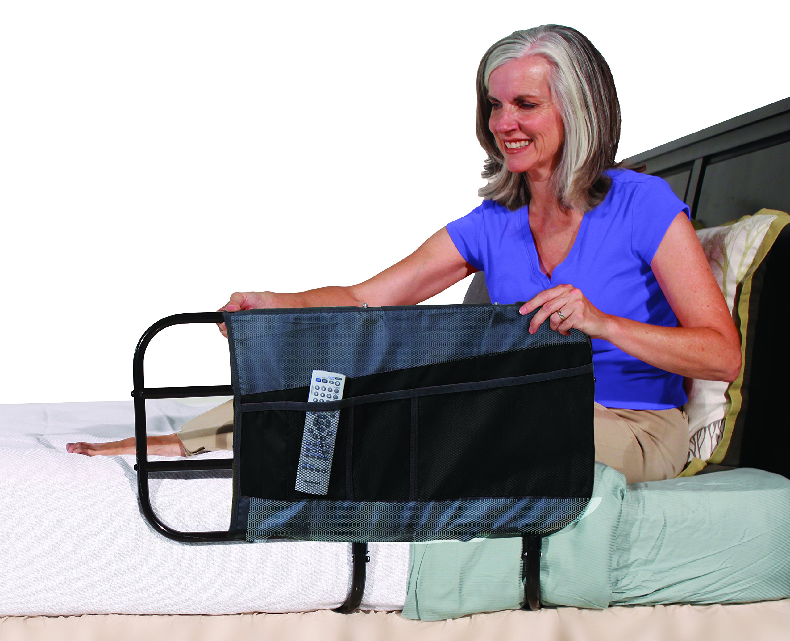 Able Life 4-Pocket Bed Rail Organizer Pouch Accessory -for Able Life Bedside Extend-A-Rail