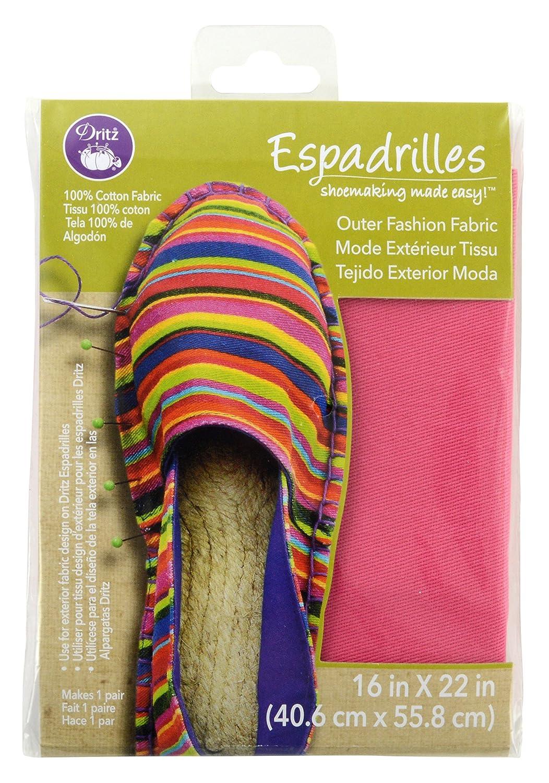 Amazon.com: Dritz Espadrilles Outer Fashion Fabric, 16