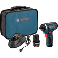 Deals on Bosch PS21-2A 12V Max 2-Speed Pocket Driver Kit w/2 Batteries