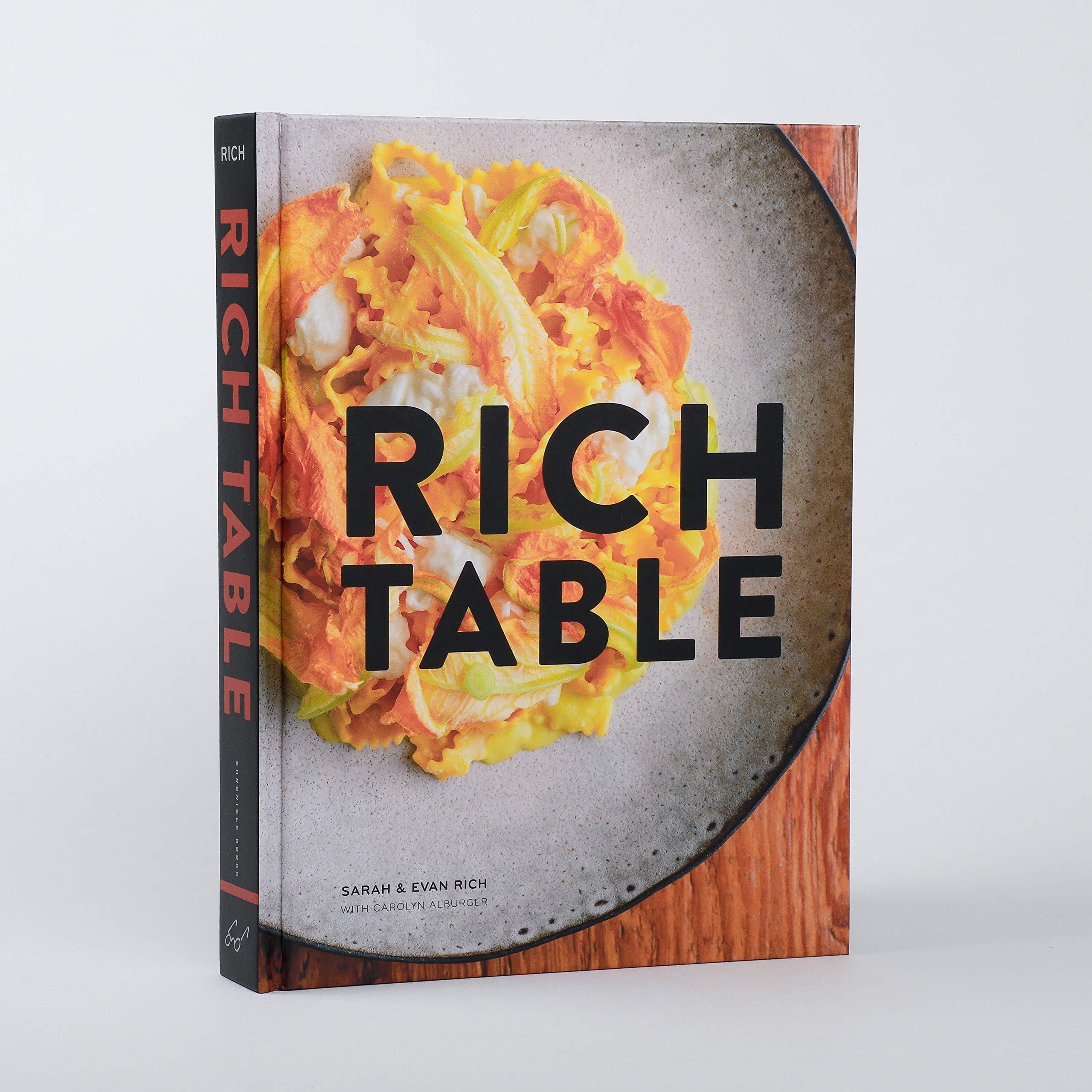 Rich Table Cookbook Of California Cuisine Fine Dining Cookbook