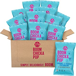 product image for Angie's BOOMCHICKAPOP Caramel & Cheddar Popcorn Mix, 6 Ounce Bag (Pack of 12 Bags)