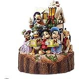 Disney Traditions 4046025 Figurine Tronc Sculpte Mickey Minnie et leurs Amis 18,39 cm