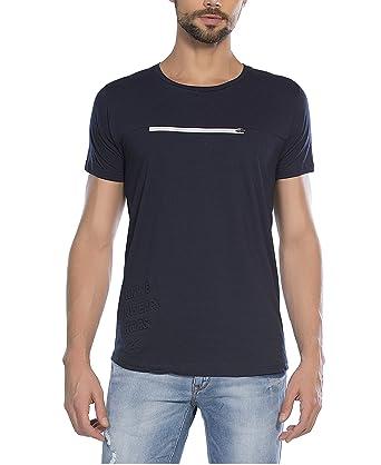 Alan Jones Men's Printed Cotton T Shirt
