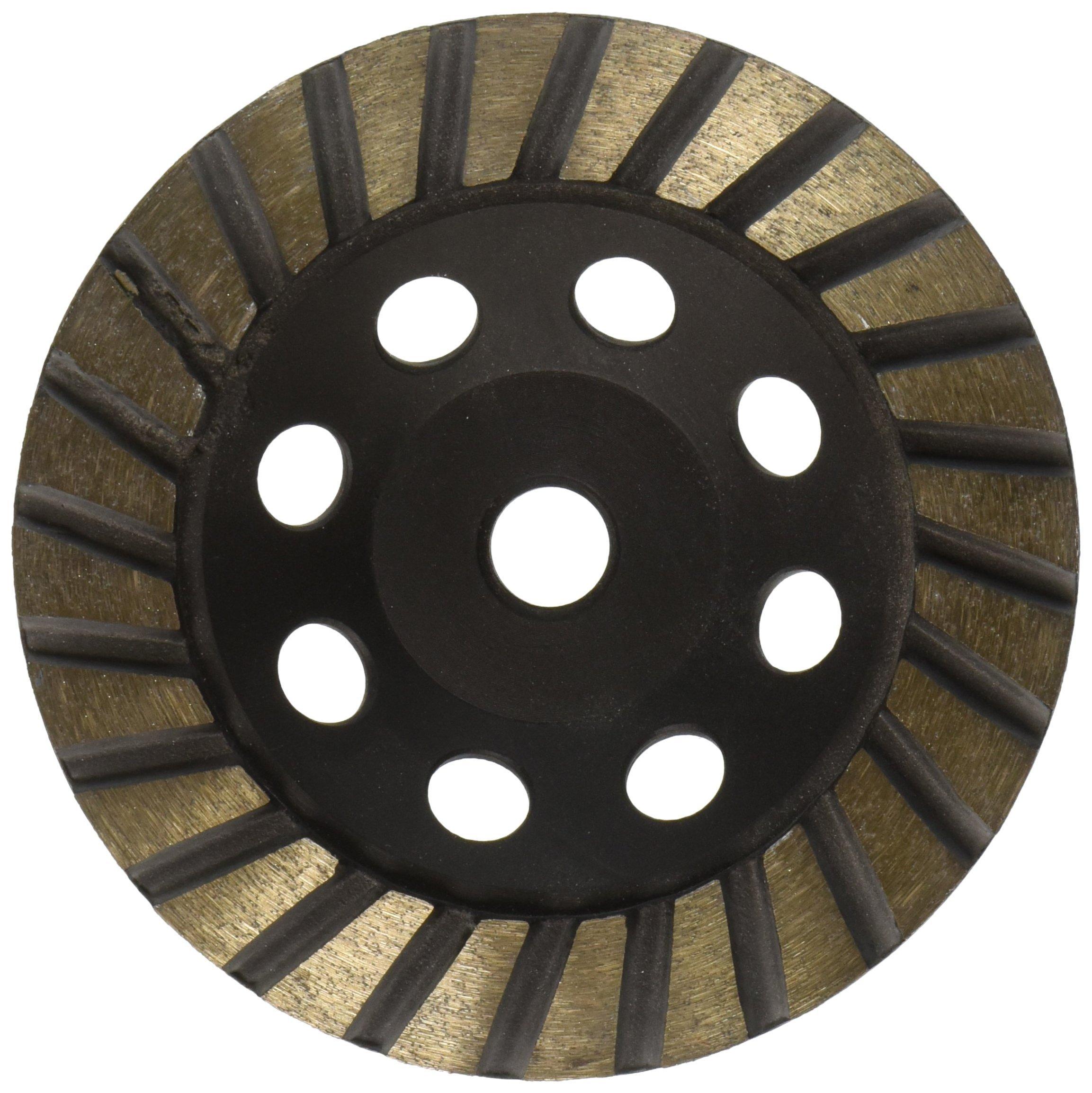 Toolocity 5tcw0058sf 5-Inch Diamond Turbo Cup Wheel Steel Based, Fine