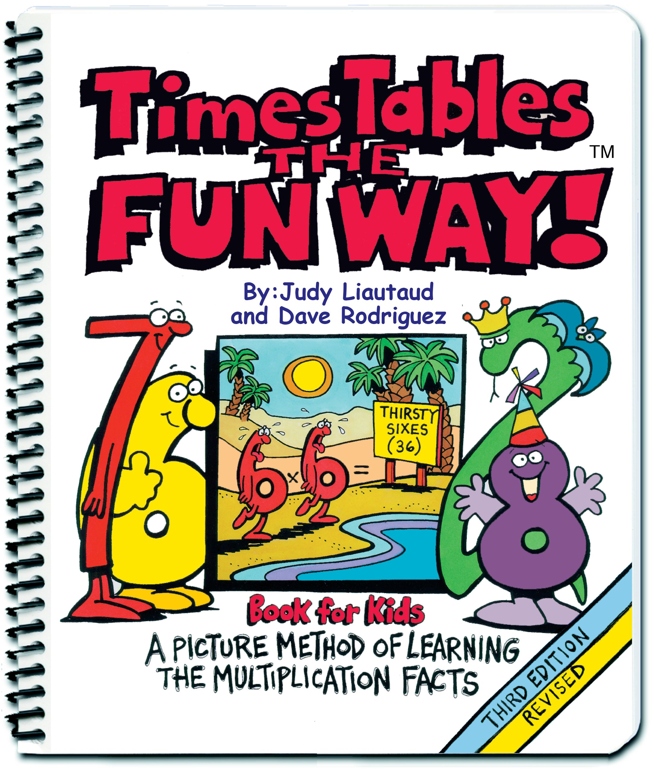 times tables the fun way book for kids a picture method of