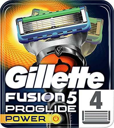 Maquinillas de afeitar Gillette con 5 hojas antifricción,un afeitado imperceptible,Recortadora de pr