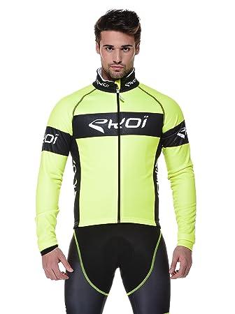 4472b2880ff EKOI Cycling Jacket M Yellow  Amazon.co.uk  Sports   Outdoors