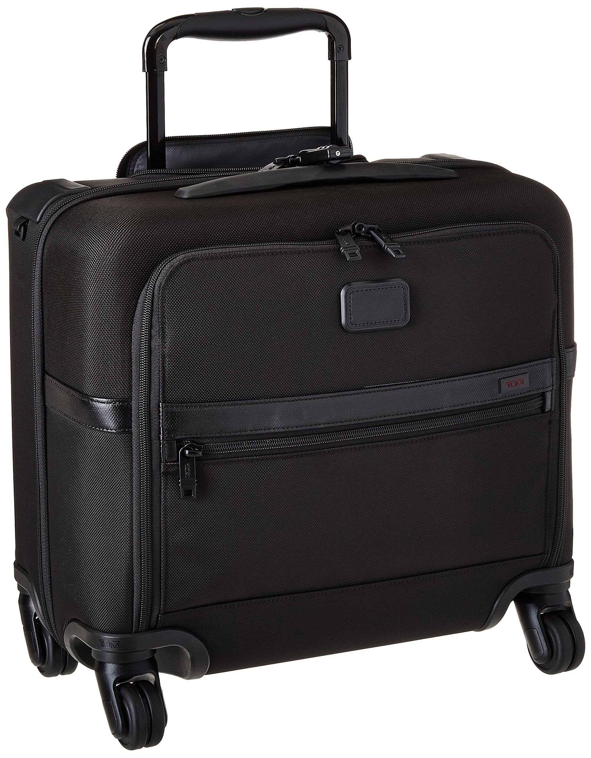 Tumi Alpha Ballistic Business 4 Wheel Compact Brief, Black, One Size