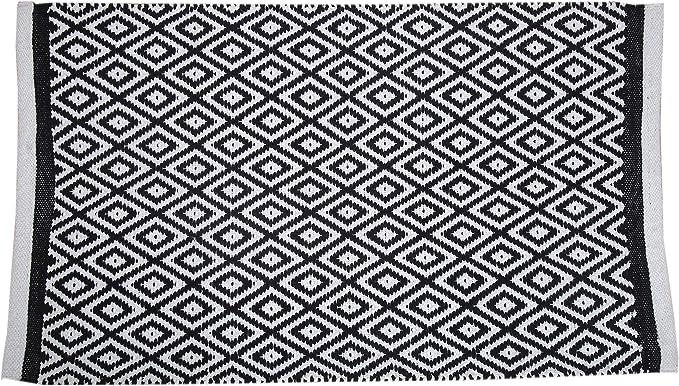 Boho Tapis de Tapis Ovale tiss/é /à la Main pour la d/écoration int/érieure 100/% Jute Naturel RAJRANG BRINGING RAJASTHAN TO YOU Tapis en Jute tress/é 152 x 91 cm