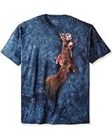 The Mountain Unisexe Adulte Ecureuil De La Paix T Shirt