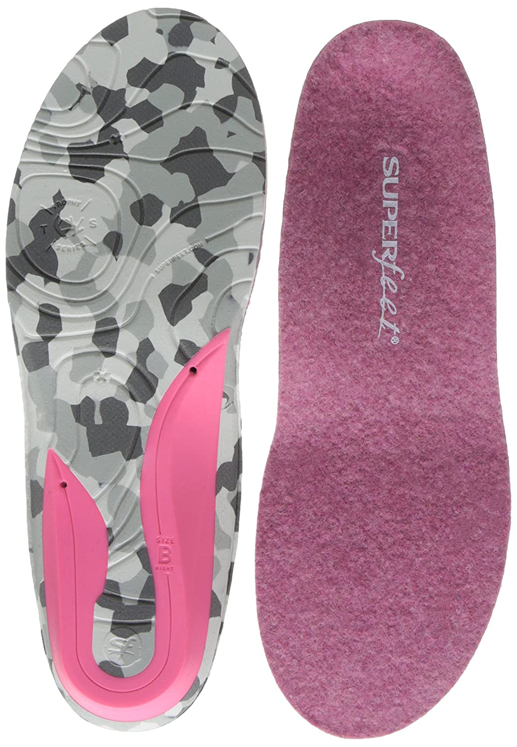 Superfeet Women's HUNT High-Mileage Warmth and Comfort Insole Inc. (Insoles) FL127907