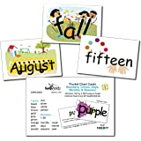Snapwords Numbers, Colors, Days, Months, & Seasons Pocket Chart Cards