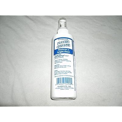 Plaskolite 1999990A 8 oz. Plastic Cleaner: Home & Kitchen