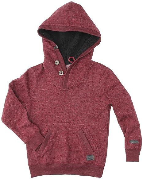 Billabong Rasta - Sudadera con capucha para niño rojo blood Talla:10