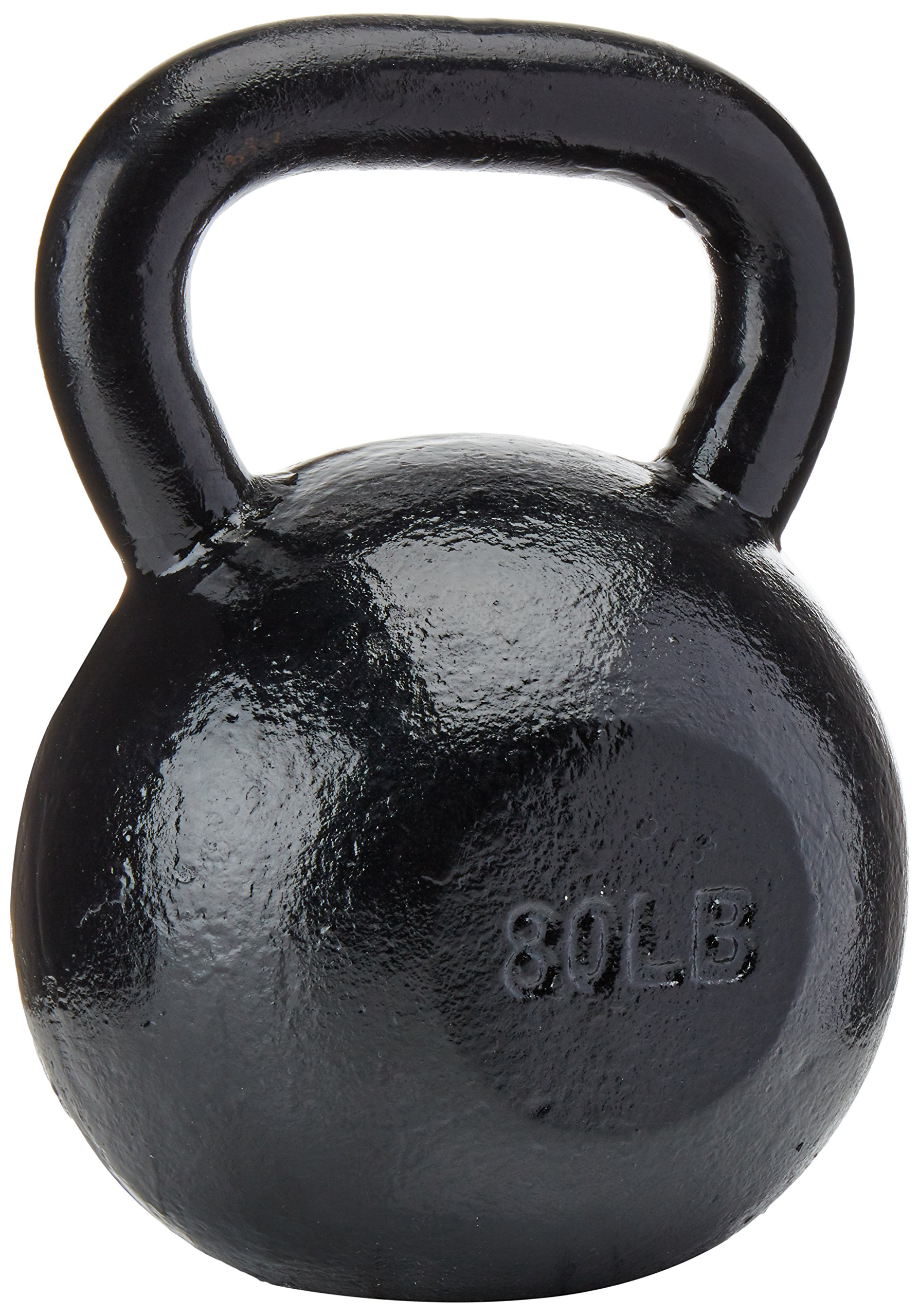 Sunny Black Kettle Bell (80-Pound)